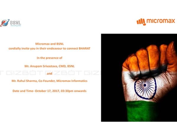 माइक्रोमैक्स और बीएसएनएल लॉन्च करेंगे सस्ता Bharat One फोन