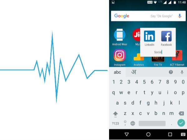 फोन स्क्रीन में फोल्डर बनाकर ऐप आसानी से मैनेज कर सकते हैं