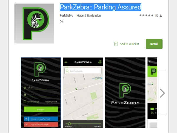 ParkZebra:: Parking Assured