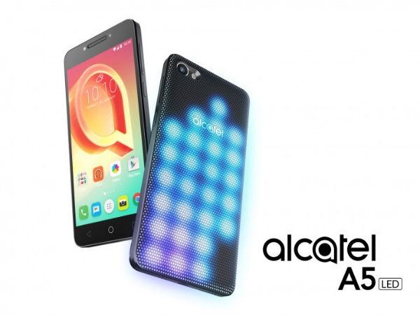 Alcatel A5 LED और A7 लॉन्च, जानें रैम, बैटरी, और कीमत