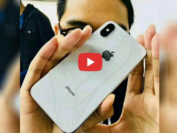 Video: खरीदते ही हाथ से छूटा  iPhone X, फोन और मालिक दोनों की हालत खराब