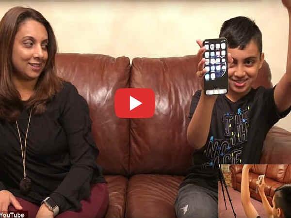 वीडियो में देखिए 10 साल के बच्चे ने यूं ब्रेक किया iPhone X का फेस आईडी लॉक