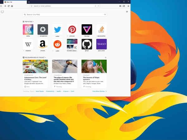 कम मेमोरी में भी दोगुनी स्पीड से चलेगा Mozilla का नया Firefox
