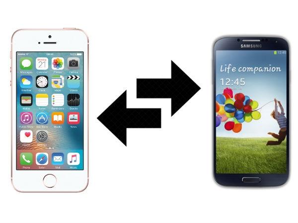 आइफोन से एंड्रायड में कैसे डेटा ट्रांसफर करें ?