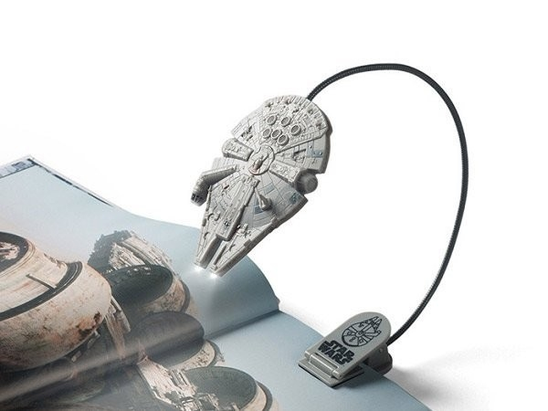 d) Star Wars Millennium Falcon Book Light