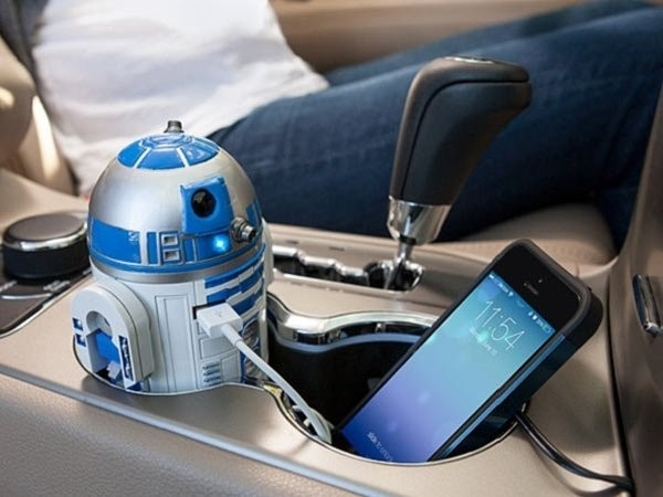 c) Star Wars R2-D2 USB Car Charger
