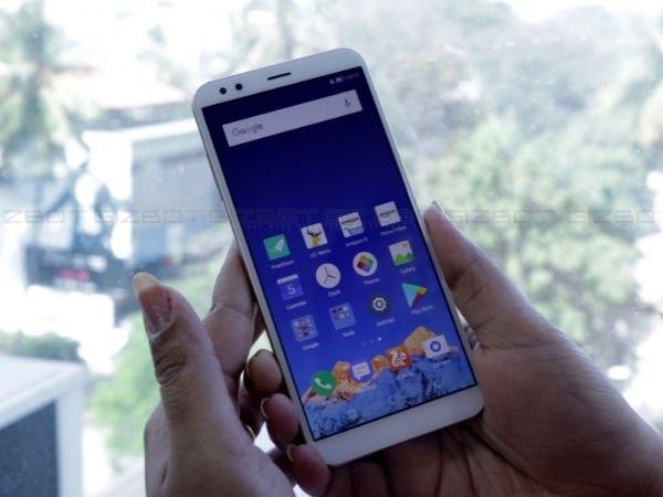 5.7 इंच डिसप्ले के साथ InFocus Vision 3 भारत में लॉन्च, जानें सारे स्पेक्स और कीमत