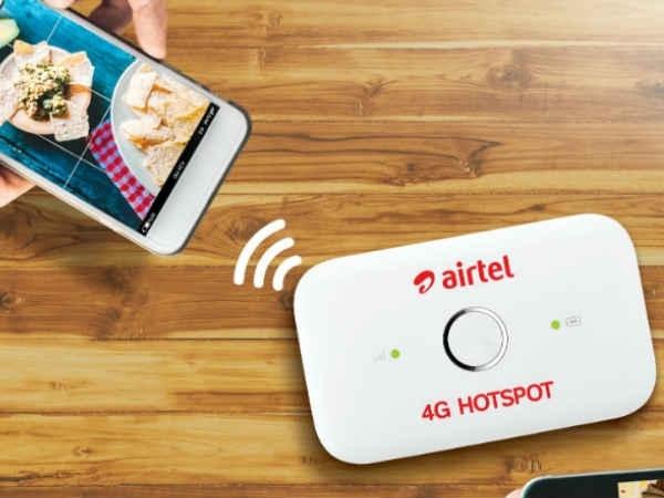 Airtel 4G हॉटस्पॉट, अब 999 रुपए में खरीदें Amazon से