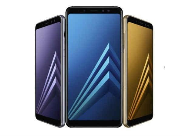 डुअल फ्रंट कैमरा के साथ Samsung Galaxy A8+ (2018) भारत में लॉन्च