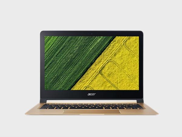 CES 2018 :  एसर ने पेश किया दुनिया का thinnest लैपटॉप Swift 7