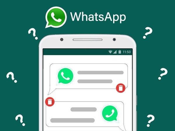 Whatsapp पर डिलीट मैसेज भी पढ़ें