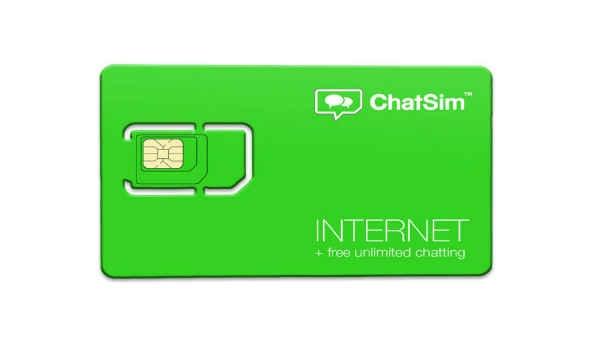 अनलिमिटेड इंटरनेट और चैटिंग के लिए आ गया ChatSim 2