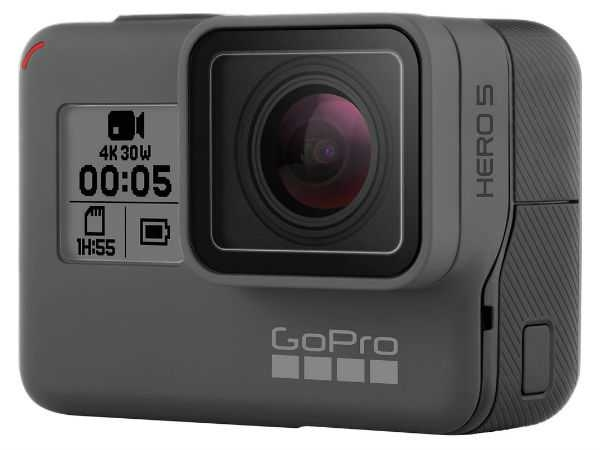 GoPro Hero5 Black Action Camera, Black-