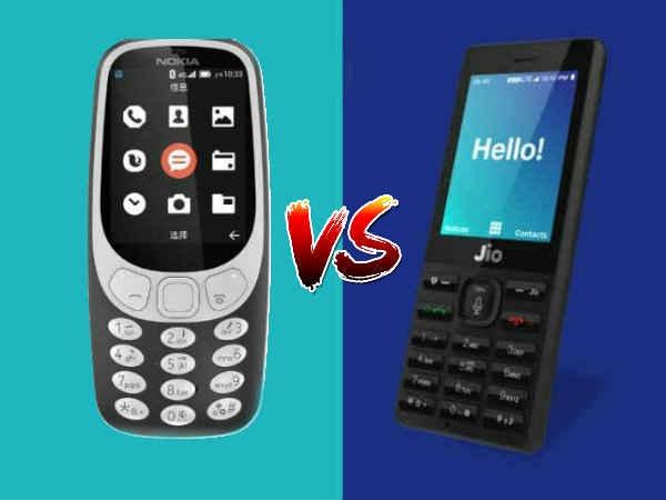 नोकिया 3310 4G VS रिलायंस जियोफोन : किसमें कितना है दम