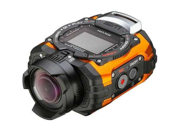 Ricoh WG-M1 14MP Waterproof Action Video Camera (Orange)
