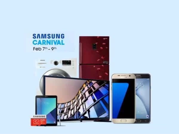 Samsung कार्निवल में आधी से भी कम कीमत पर मिल रहे हैं ये Smartphone