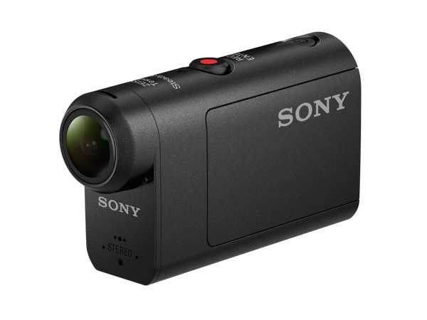 Sony HDR-AS50 Digital Action Camera (Black) :