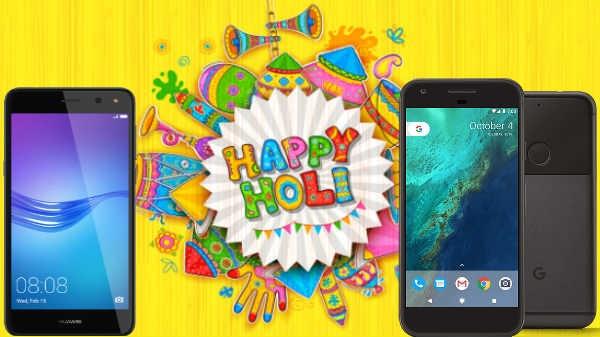 Holi Offer : स्मार्टफोन पर मिल रहा है 50% तक डिस्काउंट