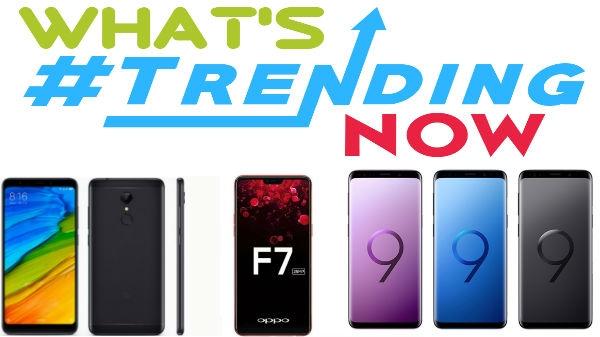 आ गई टॉप 5 ट्रेंडिंग स्मार्टफोन की लिस्ट