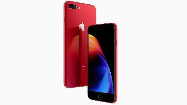 iPhone 8 व iPhone 8 Plus के रेड एडिशन की बिक्री भारत में शुरू