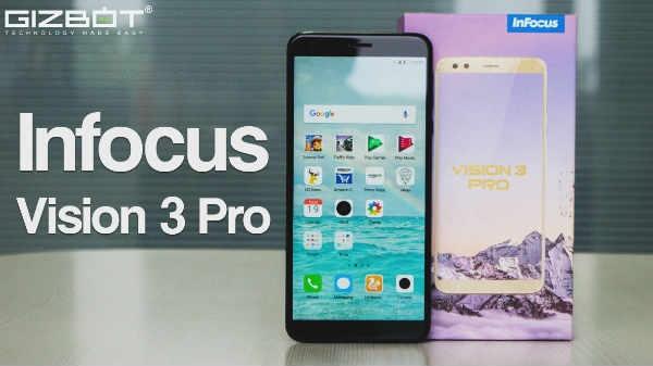 InFocus Vision 3 Pro: इंप्रेसिव फीचर्स वाला एक दमदार फोन
