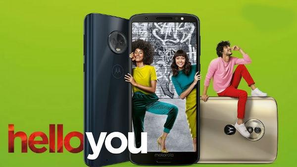 Moto G6 सीरिज के सभी स्मार्टफोन लॉन्च, जानें कीमत व फीचर्स