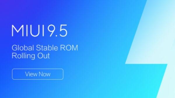 रेडमी नोट 5 में मिलने लगा  MIUI 9.5 अपडेट