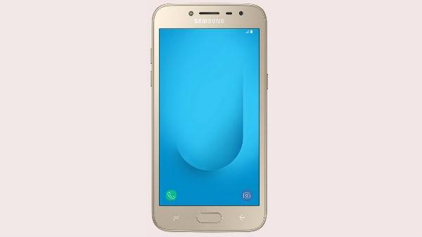 Samsung Galaxy J2 (2018) भारत में लॉन्च, 2,750 रुपए का कैशबैक