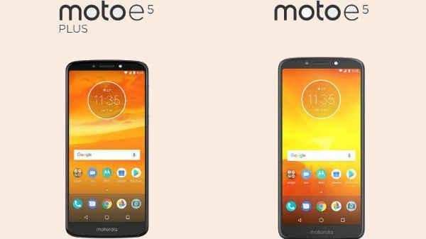 Moto E5, E5 Plus, E5 Play लॉन्च, जानें कीमत व फीचर्स