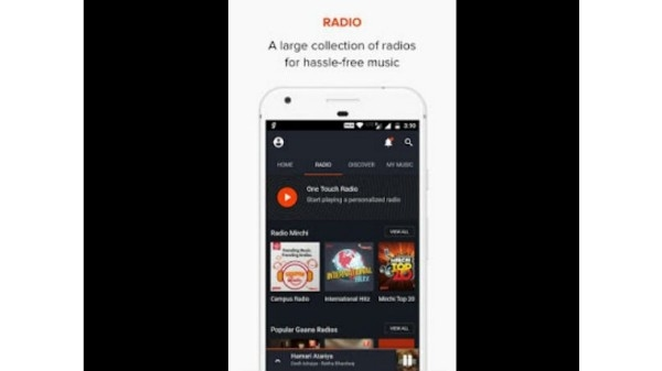 5. Gaana: Bollywood Music & Radio