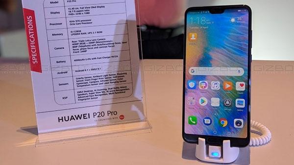 5000 रुपए डिस्काउंट के साथ Huawei P20 Pro व P20 Lite की ओपन सेल शुरू