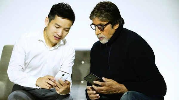 अमिताभ बच्चन के हाथ में नजर आया OnePlus 6, सामने आए खास फीचर्स