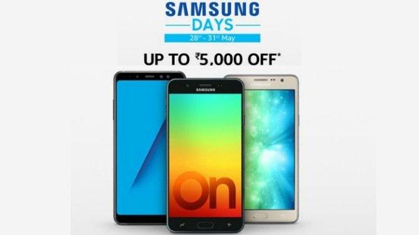 Samsung Days सेल शुरू, इन स्मार्टफोन पर 5000 रुपए तक डिस्काउंट