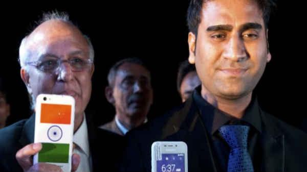 """दुनिया के सबसे सस्ते स्मार्टफोन """"Freedom 251"""" के मालिक गिरफ्तार"""