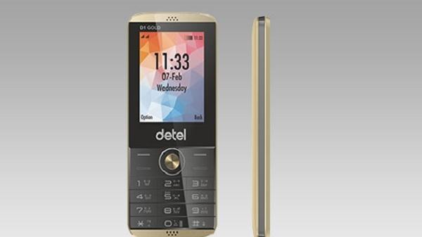डीटल ने पेश किया डी1 गोल्ड, सबसे सस्ता प्रीमियम फीचर फोन
