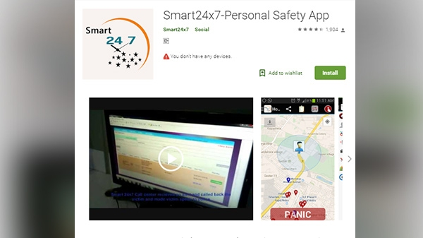 Smart 24x7 Personal Safety