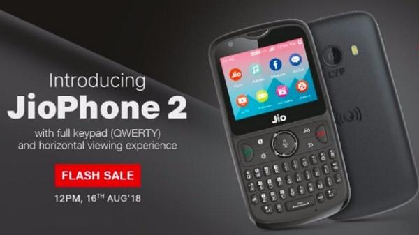 Jio Phone 2 की फ्लैश सेल आज से होगी शुरू