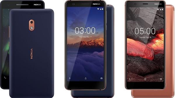 Nokia के इन तीन नए स्मार्टफोन की कीमत कम और फीचर ज्यादा
