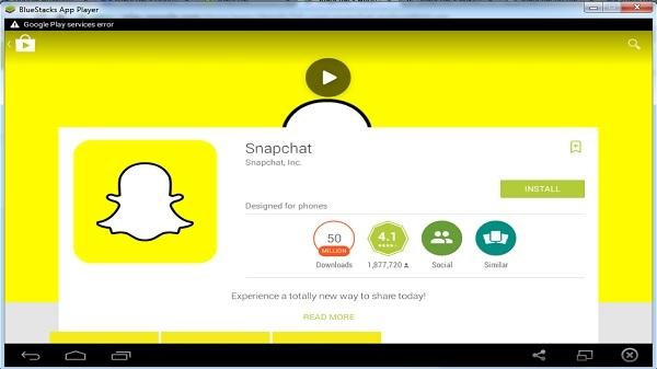 Snapchat को डेक्सटॉप और विंडो में कैसे चलाएं
