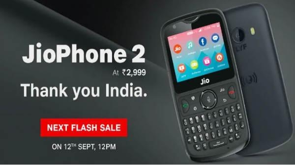 Jio Phone 2 की चौथी फ्लैश सेल शुरू, अब WhatsApp फीचर्स से भी लैस