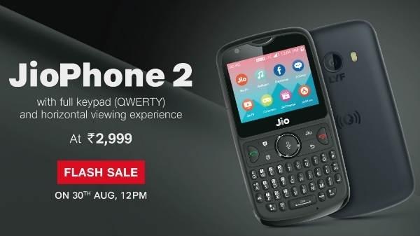 Jio के 2 साल पूरे होने पर Jio Phone 2 खरीदने का मौका, तीसरी फ्लैश सेल शुरू