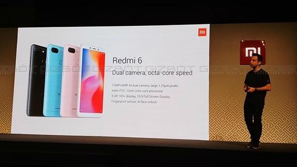 Xiaomi Redmi 6 की बिक्री आज से शुरू, Flipkart और Mi.com पर उपलब्ध