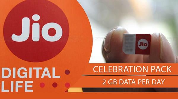 Jio दो साल पूरे होने पर लाया सेलिब्रेशन पैक, हर दिन मिलेगा 2GB डेटा