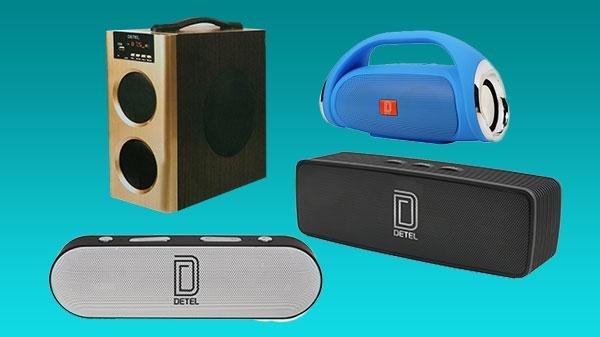 Detel कंपनी ने त्यौहार सीजन में पेश किए 4 नए स्पीकर्स, गाएं, बजाएं और उत्सव मनाएं