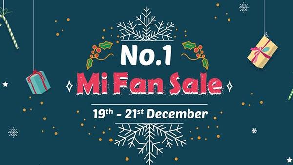 No.1 Mi Fan sale आज रात 12 बजे से होगी शुरू