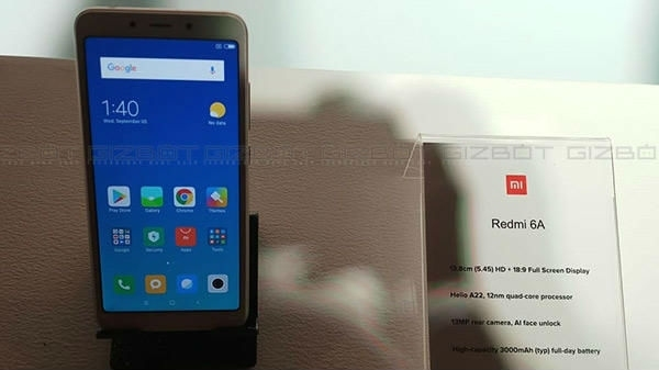 Redmi 6A खरीदने का मौका, 12 बजे से होगी फ्लैश सेल