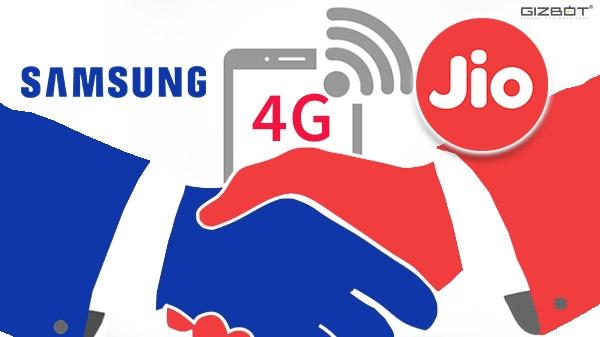Jio और Samsung की जोड़, 4G कनेक्टिविटी को बनाएगा बेजोड़