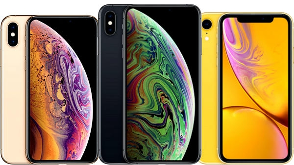 1) Apple iPhone XS and iPhone XS Max