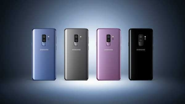 5) Samsung Galaxy S9 plus