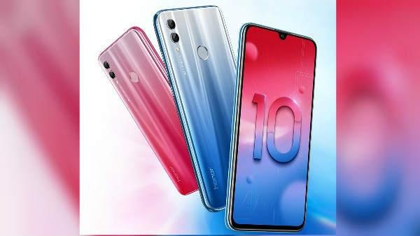 Honor 10 Lite स्मार्टफोन 13,999 रुपये की कीमत के साथ हुआ लॉन्च